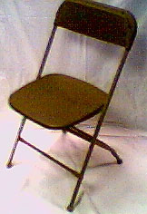 Folding Chair-Brown