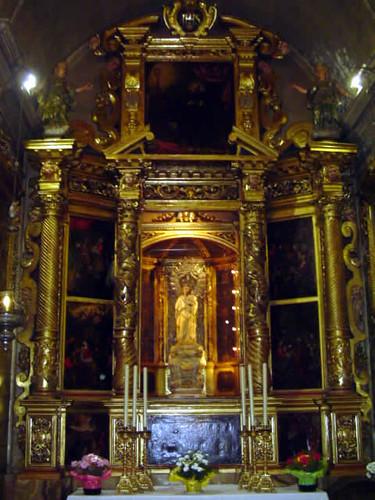 retablo de la Virgen de la Salud