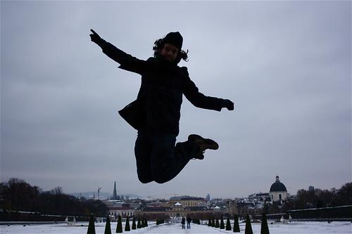 saltando en viena