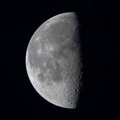Last Quarter Moon (markkilner) Tags: moon lunar telescope kilner astronomy astrophotography crater registax lastquarter 1000mm canon 350d rebelxt dslr vixen vixenrefractor skyatnight broadstairs 1025fav espace space univers universe systèmesolaire solarsystem cratères cratère craters astronomie satellite lune southeast thanet