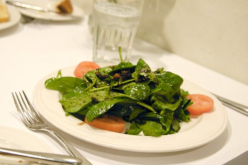 Cafe Torre - Spinach Salad