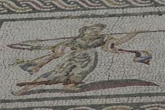 mujer con lanza (mihai73) Tags: sevilla mosaico italica santiponce