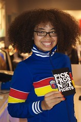 Pick Fros Not Fights! (FROLAB) Tags: party hair wonder peace natural stevie afro garcia pick fro spinna bobbito fros frolab pickfrosnotfights frospotting frolabcom frolaborators frospotted missfrolab