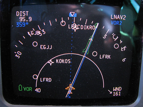 Into the jetstream at FL320