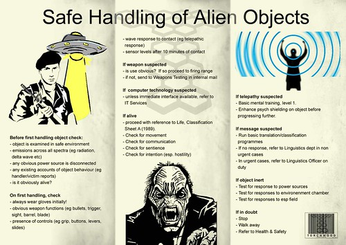 safe handling of alien objects