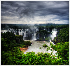 Baby cloud (Kaj Bjurman) Tags: brazil eos waterfall do iguazu hdr foz kaj 2007 cs3 photomatix 40d excellentscenic bjurman