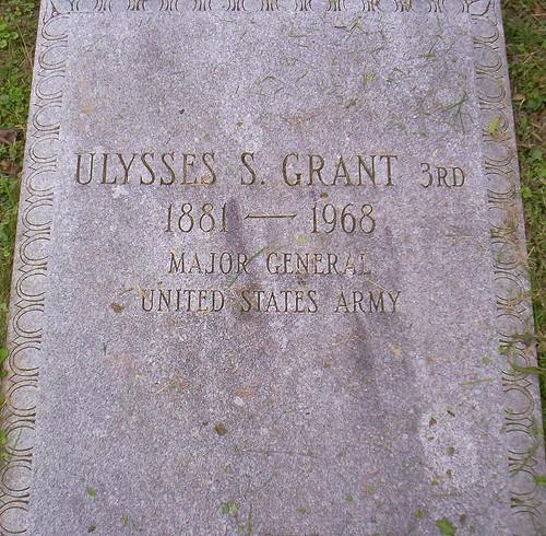 Ulysses S. Grant III burial