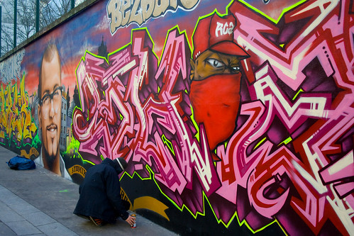 La couleur dans la rue...