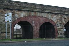 Excellent Brickwork, but why? (gdaneuk) Tags: bridge brick stone arch stonework arches lancashire viaduct brickwork rochdale littleborough