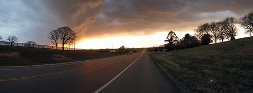Storm clouds near Navasota, Texas, USA