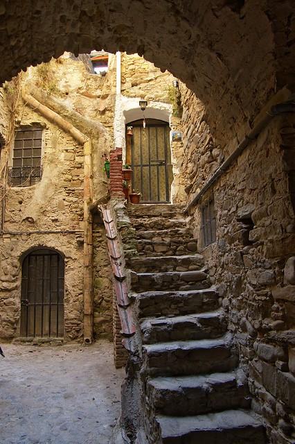Stair in Bussana Vecchia