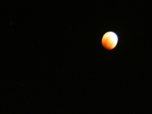 Lunar Eclipse Close Up