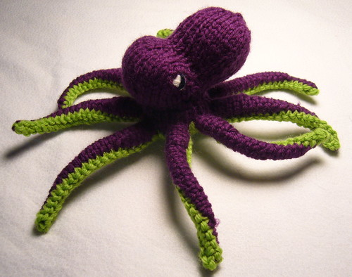 Octopus Knitting Pattern : and another thing!: March 2008