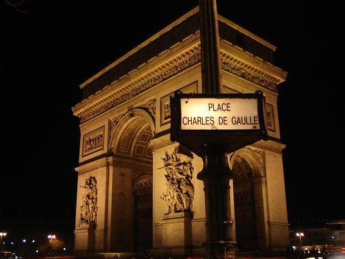 Charles de Gaulle Etoile by Night
