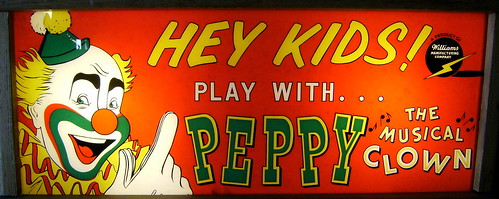 Hey Kids! Play With... Peppy The Musical Clown