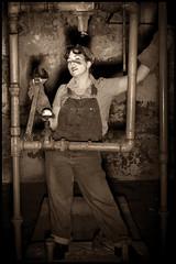 pipes 2 (Joei Reed) Tags: reed rosietheriveter raleigh bain joei joeireed bainwaterplant raleighwaterplant