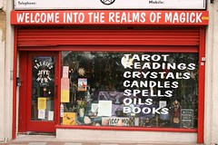 The Realms of Magick in SE9 (John.P.) Tags: uk london magick dragon witch tarot guesswherelondon witchcraft faeries spells eltham gwl se9 wellhallroad