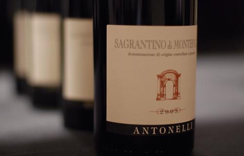 Antonelli Sagrantino di Montefalco 2003