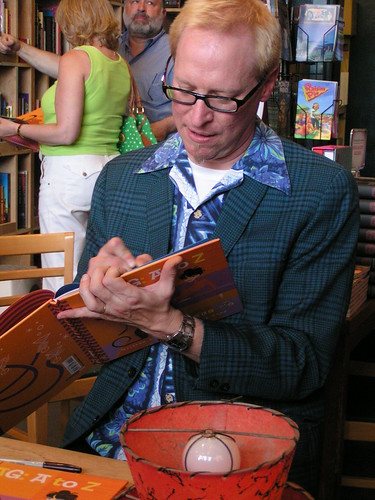 Shag: A to Z exhibit opening, Fantagraphics Bookstore & Gallery, 05/24/08