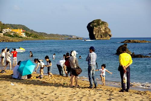 船帆石 Chuanfan Rock beach