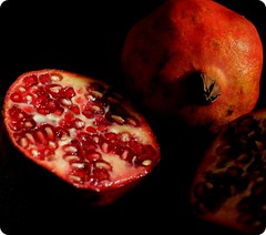 Pomegranate Cross-section