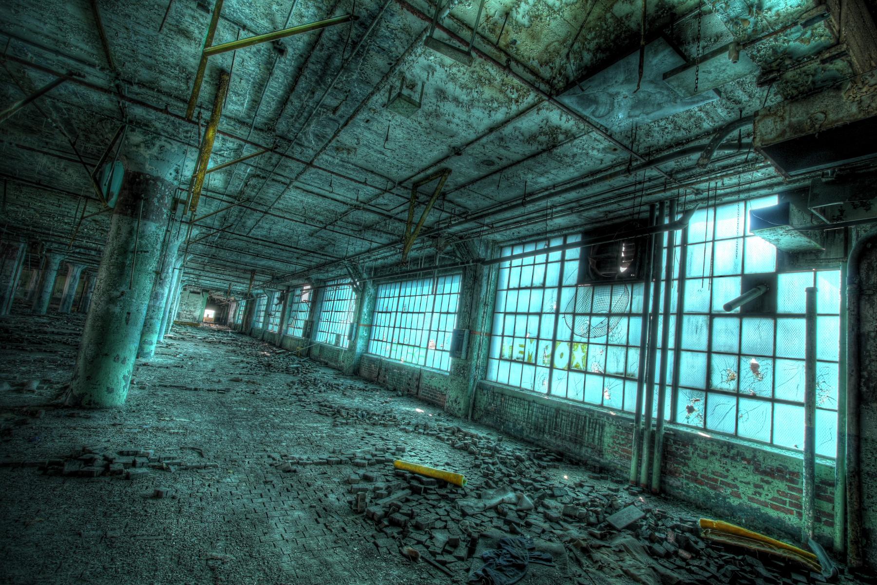 画像 : 【一度は行きたい】廃墟という名の美しすぎる芸術的建造物