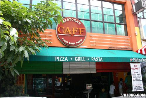 caff restaurant puchong