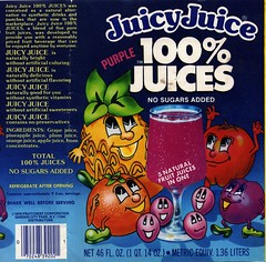 Purple Juicy Juice label