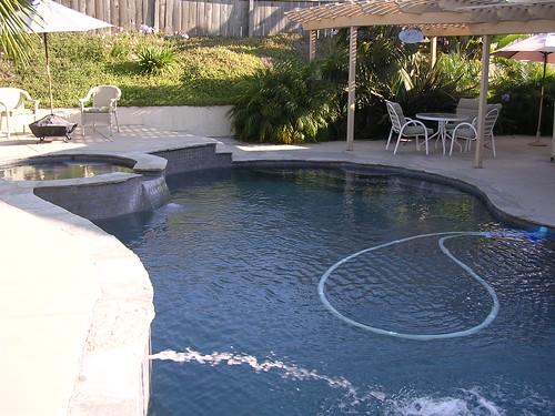 pool july