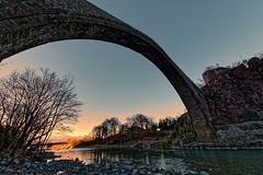 Konitsa bridge, Epirus, Greece (George Fournaris) Tags: stonebridge konitsa aoos κόνιτσα πέτρινο γεφύρι