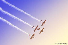 Britain's Aerobatic Team Yakovlevs (World through my Viewfinder) Tags: aeroindia aricraft airplane india bangalore 2017 aeroindiahal