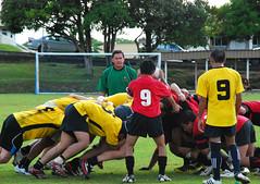 Rugby: Yachties vs Blacks