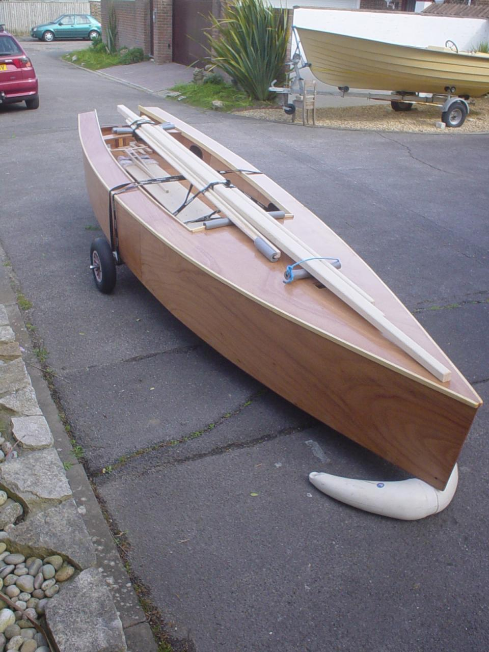 Gifted Amateur Boatbuilder Chris Perkins has laboured during some of ...