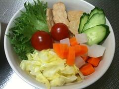 朝食サラダ(2011/5/12)