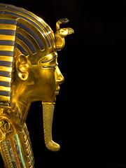 Tutankhamun Gold Mask Replica (DaveKav) Tags: brussels gold belgium egypt olympus replica copy tutankhamun e510 goldmask