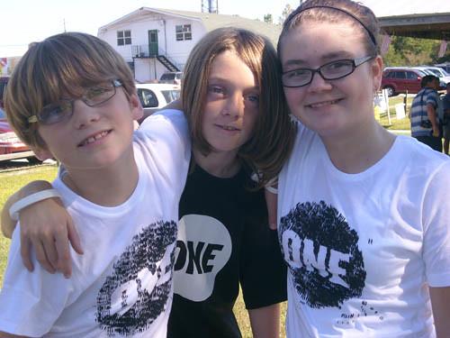 Rachel Fox's kids