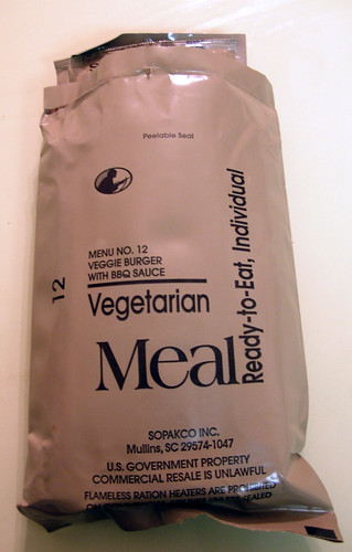 Vegetarian Meal, Ready-to-Eat