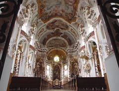 Osterhofen (earthmagnified) Tags: church architecture germany bayern deutschland bavaria europe decorative interior kirche ceiling baroque fresco stucco rococo ornamentation asam rococco osterhofen