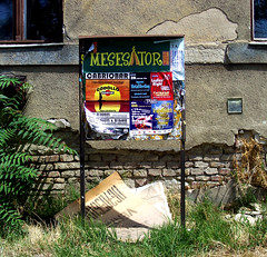 A város sebei / Wounds of the City (ssshiny) Tags: city abandoned hungary budapest plakát magyarország desolated város plackard urbanlifeinmetropolis cinkota advertisingboard hirdetőtábla lepusztult