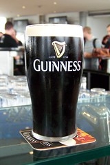 Kostenloses Pint Guiness am Ende