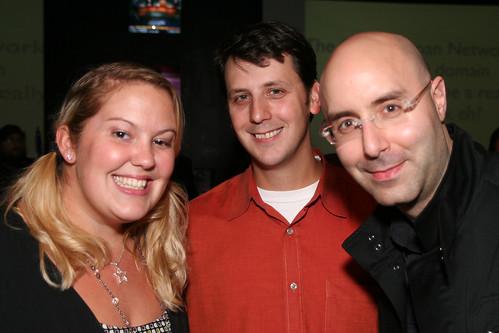 Sarah Wurrey, Doug Haslam, Mitch Joel