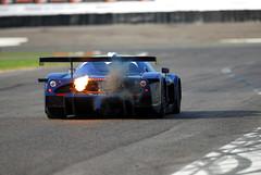 Maserati MC 12 (michaelward_autoitalia) Tags: blue fire flame enzo gt modena fia mc12 maserati fuel adria v12 afterburn aflame bertolini overrun autoitalia michaelwardphotos