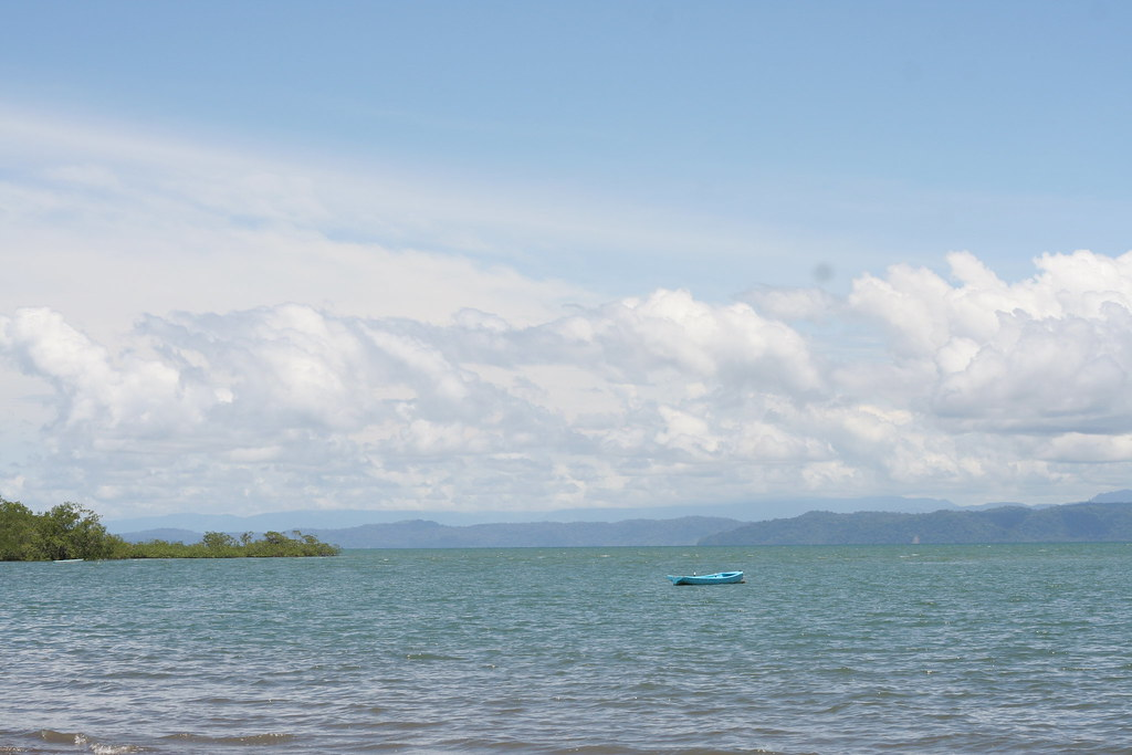 Puerto Jiminez's beach