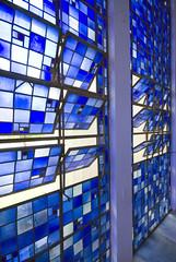 Dom Bosco chapel 04 (weyerdk) Tags: brazil church architecture modernism chapel stainedglass brasilia midcentury dombosco carlosalbertonaves