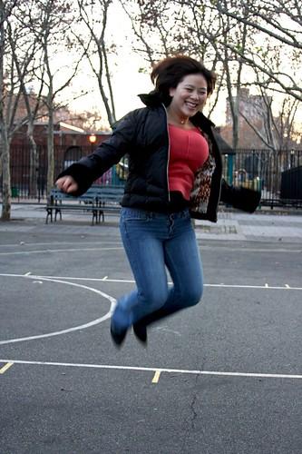 Helen's jumpin'!