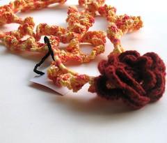 Kadinela No.24c (kadinela) Tags: wool felted cozy clothing warm handmade unique crochet felt yarn button accessories crocheted filz schal häkeln crochetted accessoire châles faitmain handarbeit neckwrap echarpes unikat crochett häkelarbeit