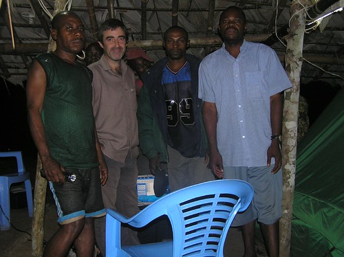 The Major Ranger (on my left shoulder is the last major obstacle to getting rid of all the guns in Obenge