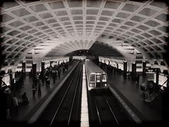 D.C. Metro: Subway From Bridge