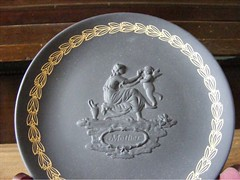 plate wedgewood black (successdoctor99) Tags: black mother plate wedgewood jasperware