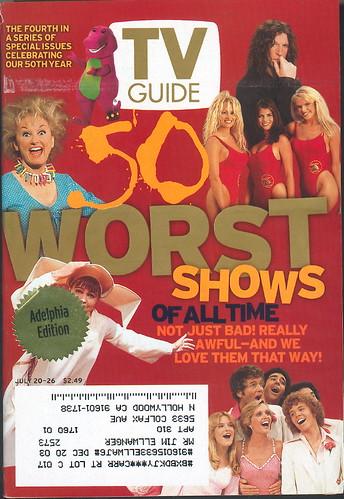 Tv Guia peores programas